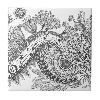 Whimsical Music Tile