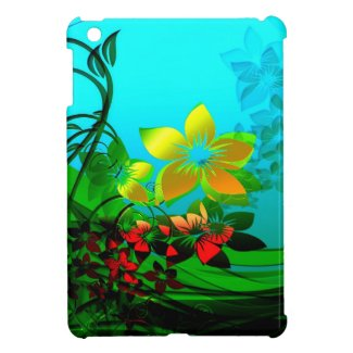 Whimsical Nature Scene iPad Mini Cover