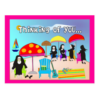 Whimsical Nun Art Gifts & Cards