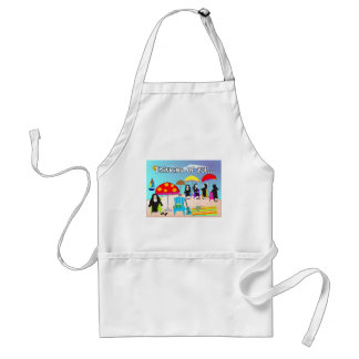 Whimsical Nun Art Gifts & Cards Adult Apron