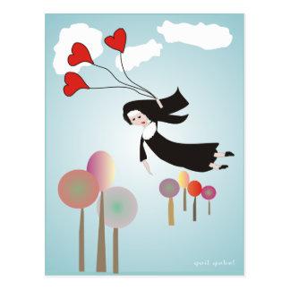 Whimsical Nun Art Gifts Postcard