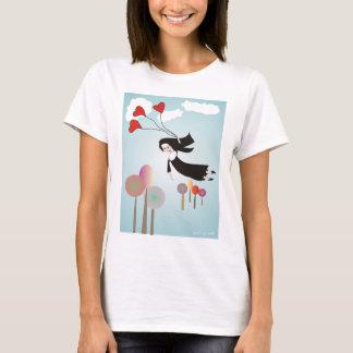 Whimsical Nun Art Gifts T-Shirt
