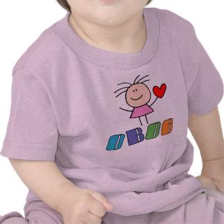 Whimsical Oboe Baby T-shirt