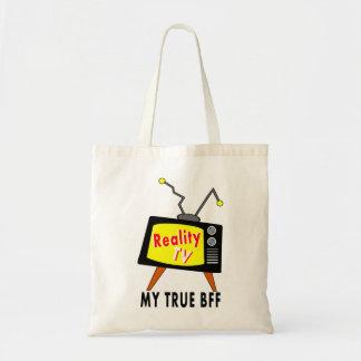 Whimsical Old TV BFF Tote Bag
