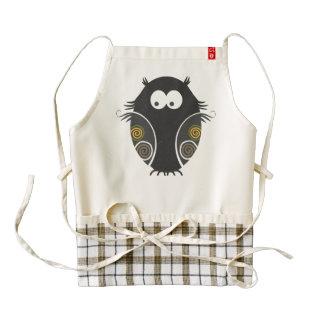 Whimsical Owl Apron Design