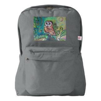 Whimsical Owl BackPack