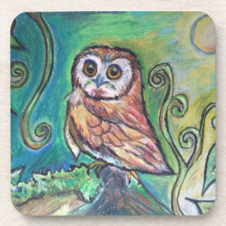 Whimsical Owl Coasters set of 6