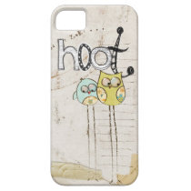 whimsical owl iphone 5 case
