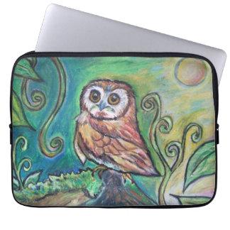 Whimsical Owl Lap Top Sleeve
