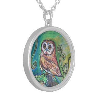 Whimsical Owl Necklace