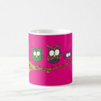 Whimsical Owls Mug