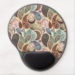 Whimsical Paisley Doodle Scribble Watercolor Gel Mouse Pad<br><div class='desc'>Check out www.zazzle.com/Sweetbriar_Drive for so many other beautiful styles,  items &amp; colors! &#169; SweetbriarDrive 2014. Do not copy.</div>