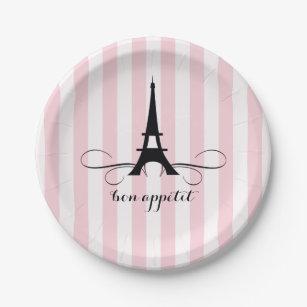 Whimsical Paris Eiffel Tower | Bridal Shower Paper Plate  sc 1 st  Zazzle & Paris Plates | Zazzle