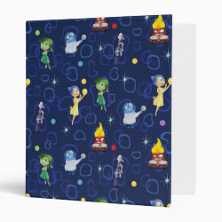 Avery Signature 1' Binder with Cute Pattern from Pixar's Inside Out design