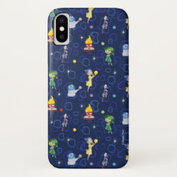 Case-Mate Barely There iPhone X Case with Cute Pattern from Pixar's Inside Out design