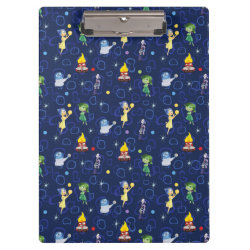 Clipboard with Cute Pattern from Pixar's Inside Out design
