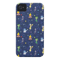Case-Mate iPhone 4 Barely There Universal Case with Cute Pattern from Pixar's Inside Out design
