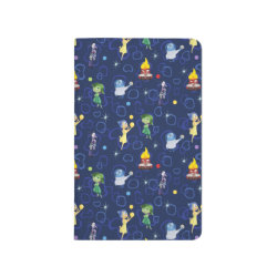 Pocket Journal with Cute Pattern from Pixar's Inside Out design