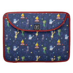 Macbook Pro 15' Flap Sleeve with Cute Pattern from Pixar's Inside Out design