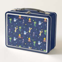 Metal Lunch Box with Cute Pattern from Pixar's Inside Out design