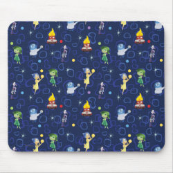 Cute Pattern from Pixar's Inside Out Mousepad