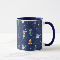 Combo Mug with Cute Pattern from Pixar's Inside Out design