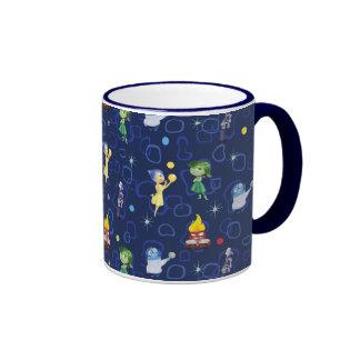 Whimsical Pattern Ringer Mug