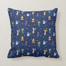 Cotton Throw Pillow with Cute Pattern from Pixar's Inside Out design
