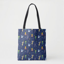 All-Over-Print Tote Bag, Medium with Cute Pattern from Pixar's Inside Out design