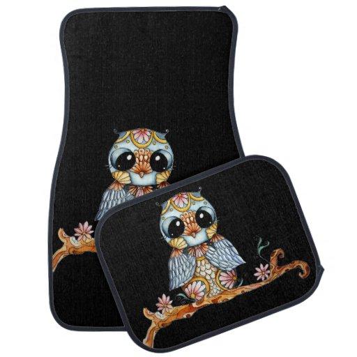 Owl Car Floor Mats 28 Images Owl Floor Mats Owl Car Mat Designs Zazzle Color Floor Mats