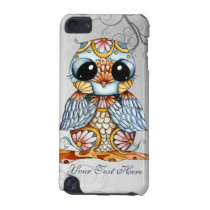 Whimsical Patterned Owl iPod Touch 5g Case