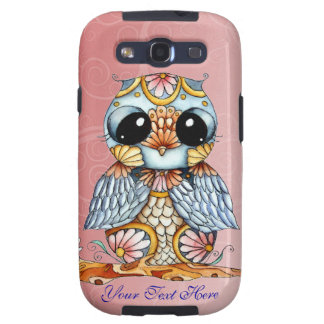 Whimsical Patterned Owl Samsung Galaxy S3 Case
