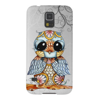Whimsical Patterned Owl Samsung Galaxy S5 Case