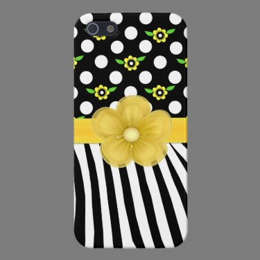 Whimsical Patterns Girly iPhone 5 Case