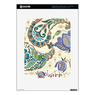 Whimsical Peacock iPad 3 Decals