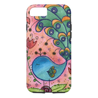 Whimsical Peacock iPhone 7 case