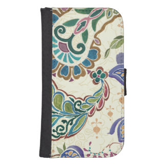 Whimsical Peacock Phone Wallet
