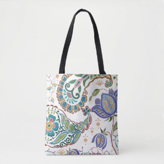 Whimsical Peacock Tote Bag