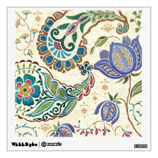 Whimsical Peacock Wall Sticker