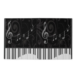 Whimsical Piano and Musical Notes iPad Case