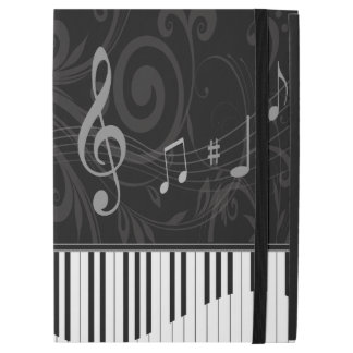 "Whimsical Piano and Musical Notes iPad Pro 12.9"" Case"