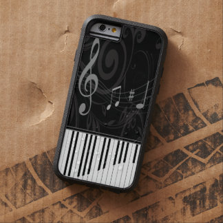 Whimsical Piano and Musical Notes Tough Xtreme iPhone 6 Case