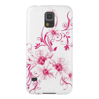 Whimsical Pink Flowers Samsung Case