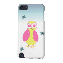 Whimsical Pink Owl iPod Touch 5G Cover