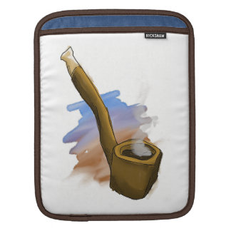 Whimsical Pipe Illustration Tablet Sleeve