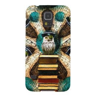 Whimsical Pirate Owl Samsung Galaxy Nexus Case