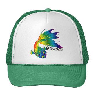 Whimsical Pisces Caps Trucker Hat