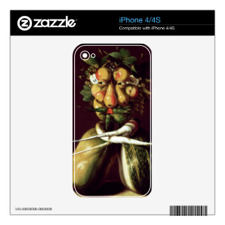 Whimsical Portrait Skin For iPhone 4