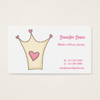 Whimsical Princess Calling Card