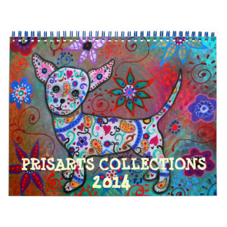 WHIMSICAL PRISARTS COLLECTION 2014 CALENDAR